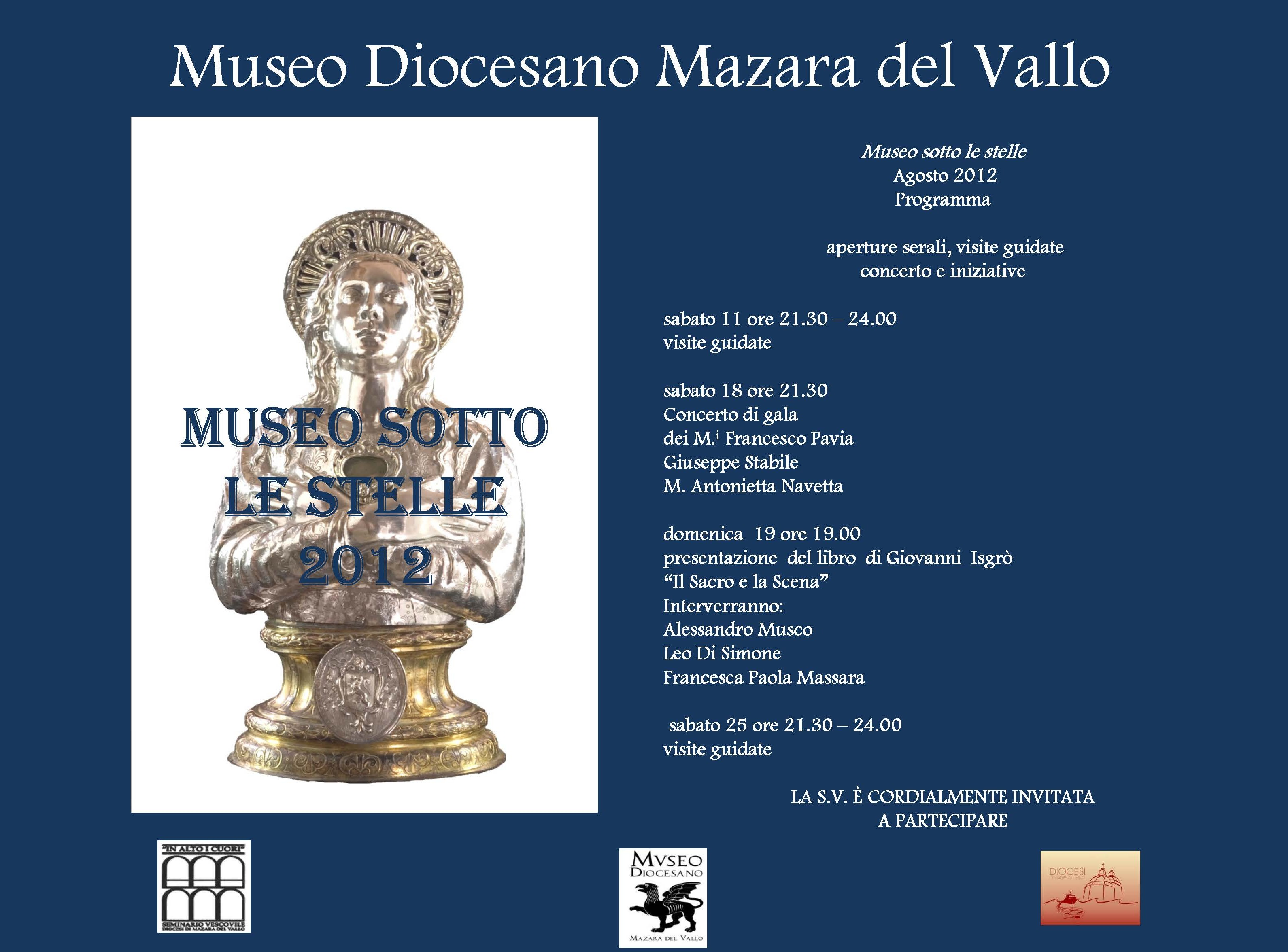 Museo sotto le stelle 2012