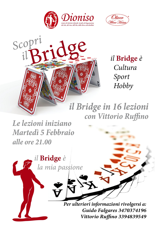Lezioni di Bridge: da Martedì 5 febbraio