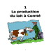 La production du lait à Comté