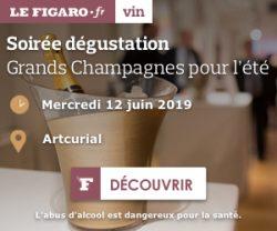 Le Figaro VinLa Newsletter du 06 juin 2019