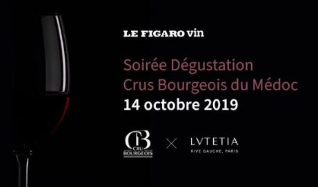LeFigaro.fr/Vin    Soirée Dégustation Champagnes Millésimés.        7 nov 2019,
