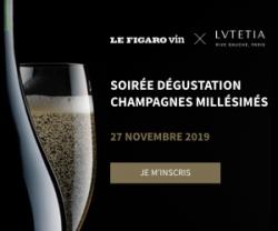 Le Figaro VinLa Newsletter du 07 novembre 2019